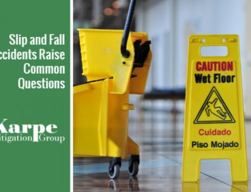 Slip and Fall Accidents Raise Common Questions
