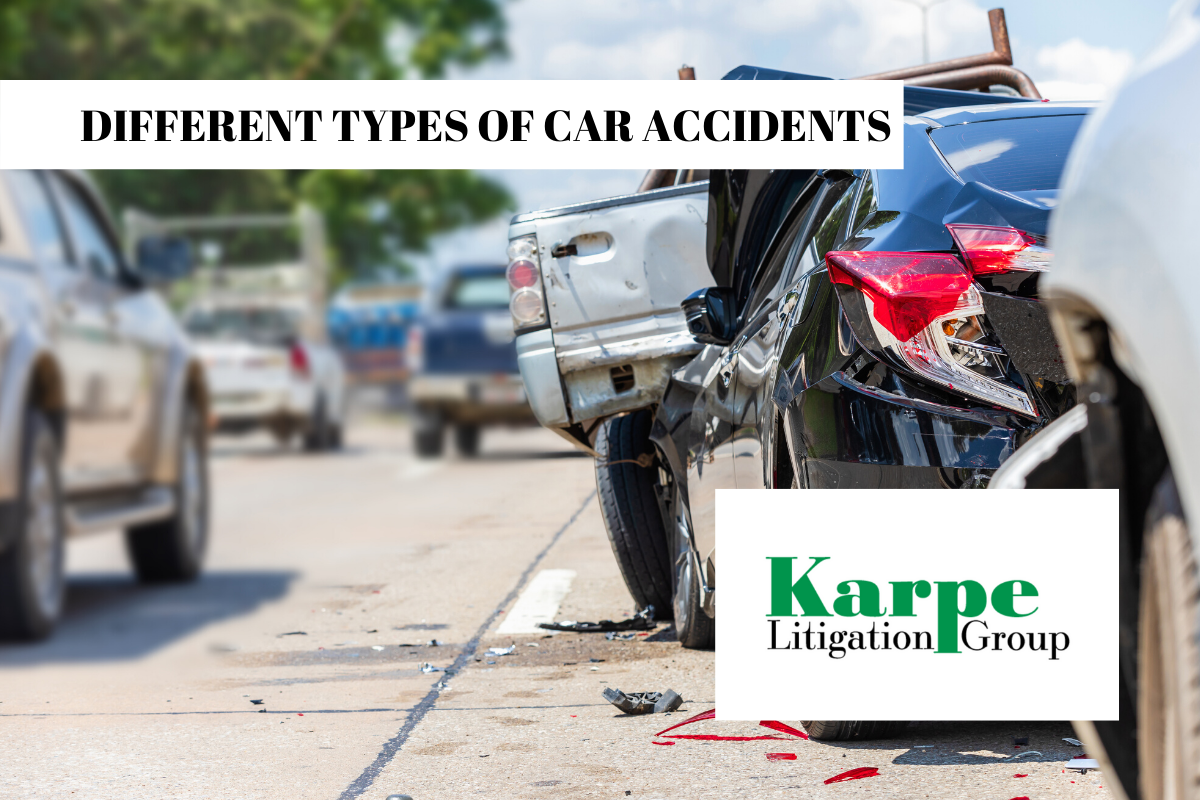 CAR ACCIDENTS COME IN DIFFERENT TYPES
