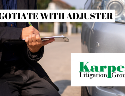 Negotiate with an Insurance Claims Adjuster