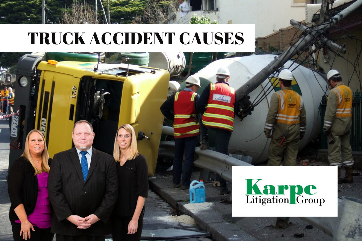 truck accident cause